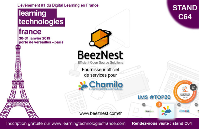 chamilo-beeznest-learning-technologies-paris-2019